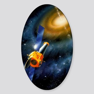 Artwork of Chandra X-ray Observator Sticker (Oval)